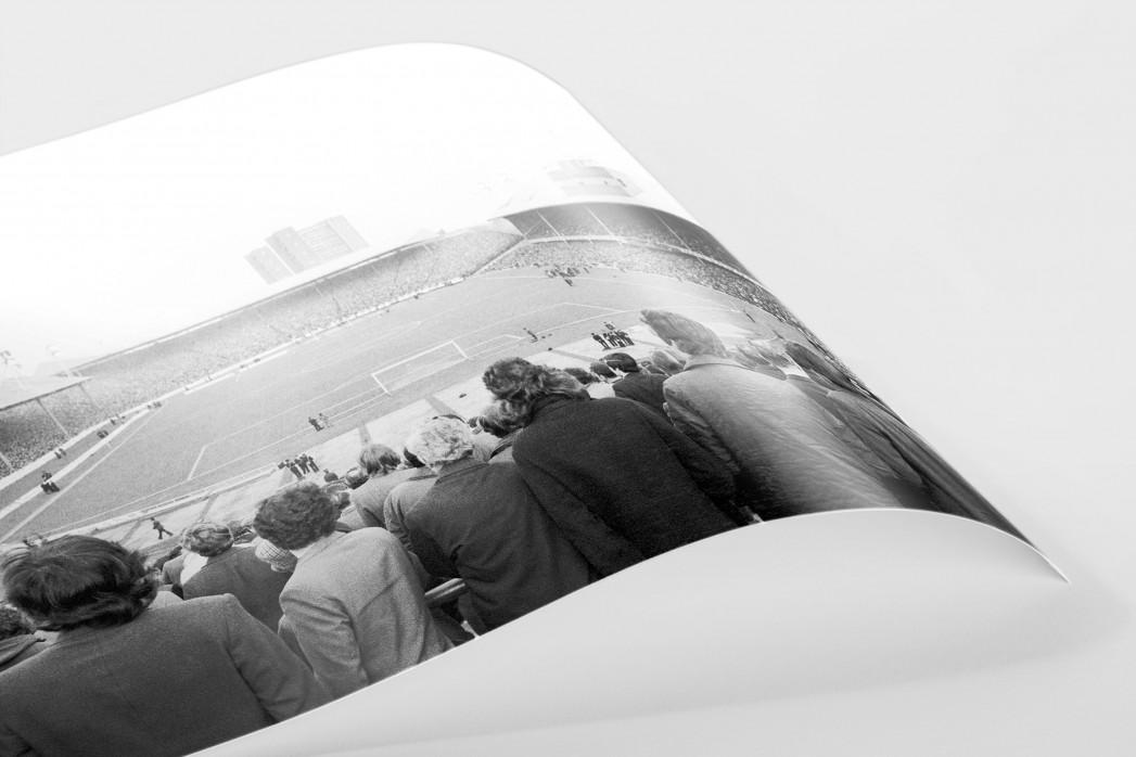 Im Ibrox Park als FineArt-Print
