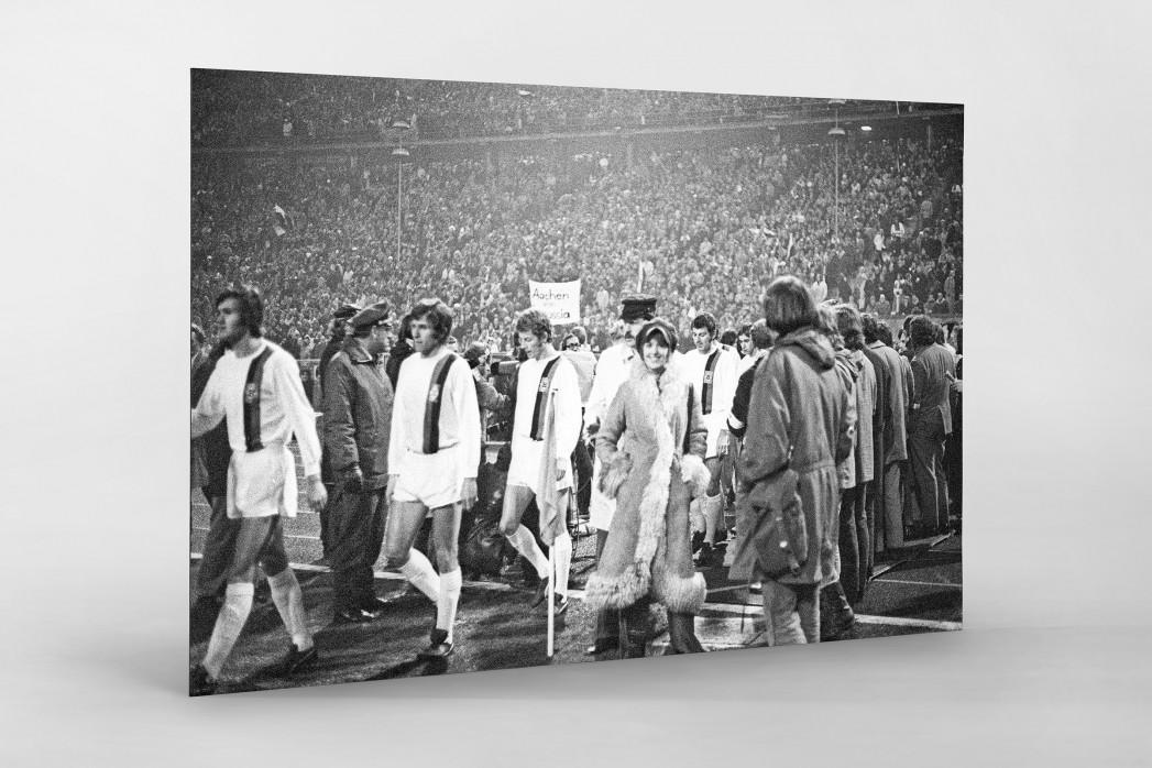Mönchengladbach 1971 als auf Alu-Dibond kaschierter Fotoabzug