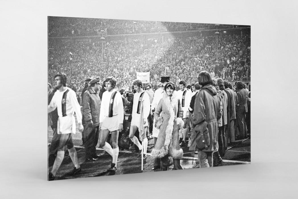 Mönchengladbach 1971 als Direktdruck auf Alu-Dibond hinter Acrylglas