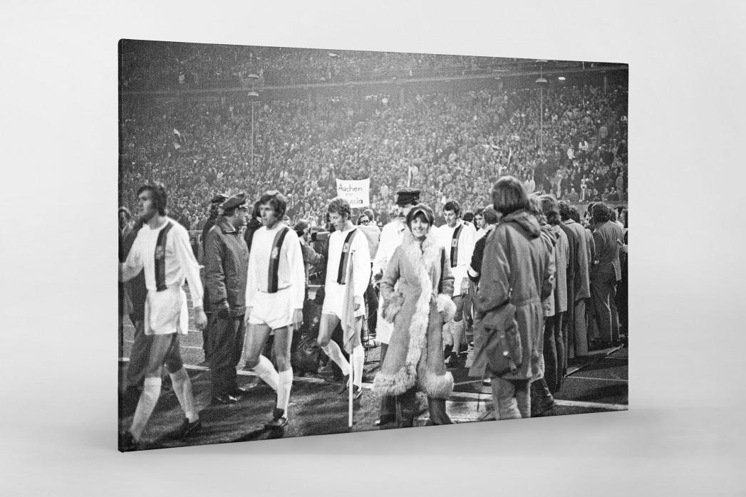 Mönchengladbach 1971 als Leinwand auf Keilrahmen gezogen