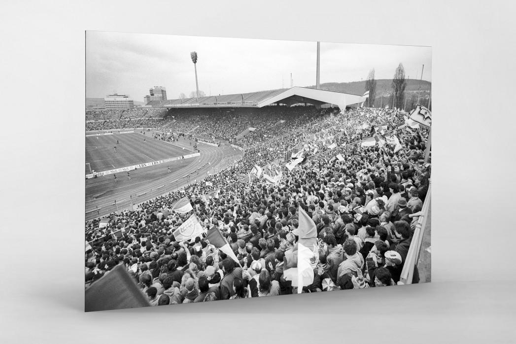 Neckarstadion 1991 als auf Alu-Dibond kaschierter Fotoabzug