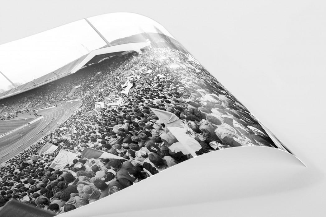 Neckarstadion 1991 als FineArt-Print