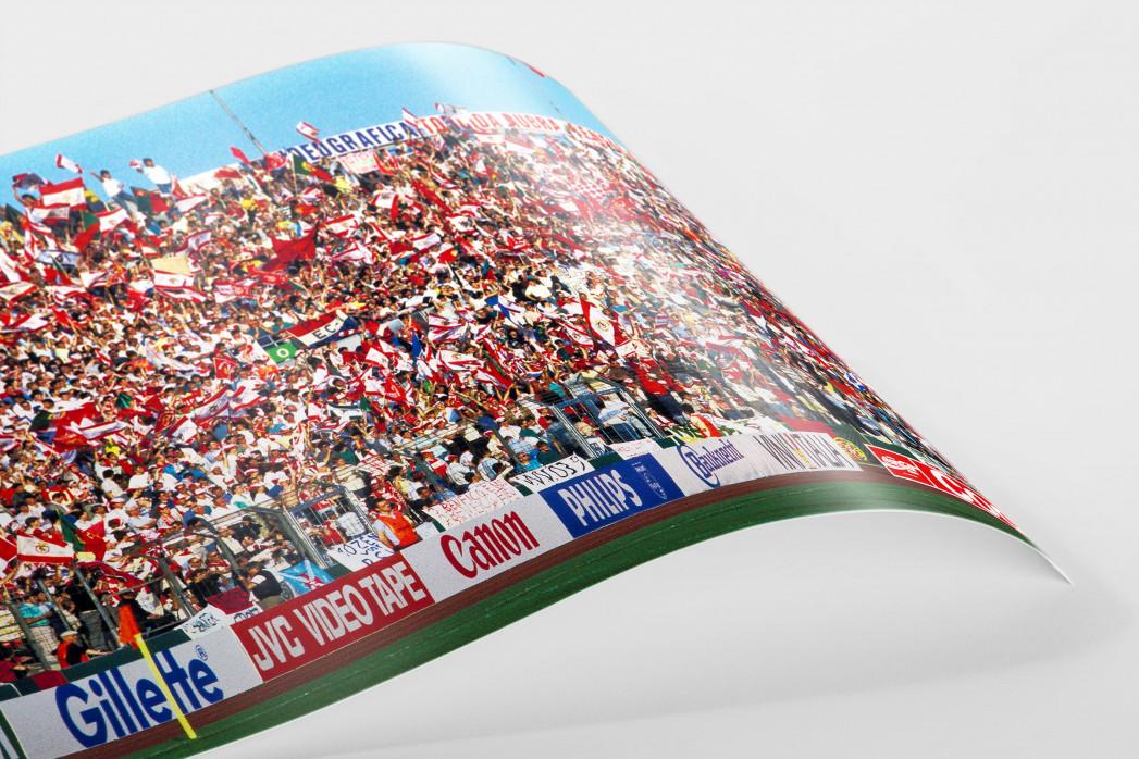 PSV vs. Benfica im Neckarstadion als FineArt-Print