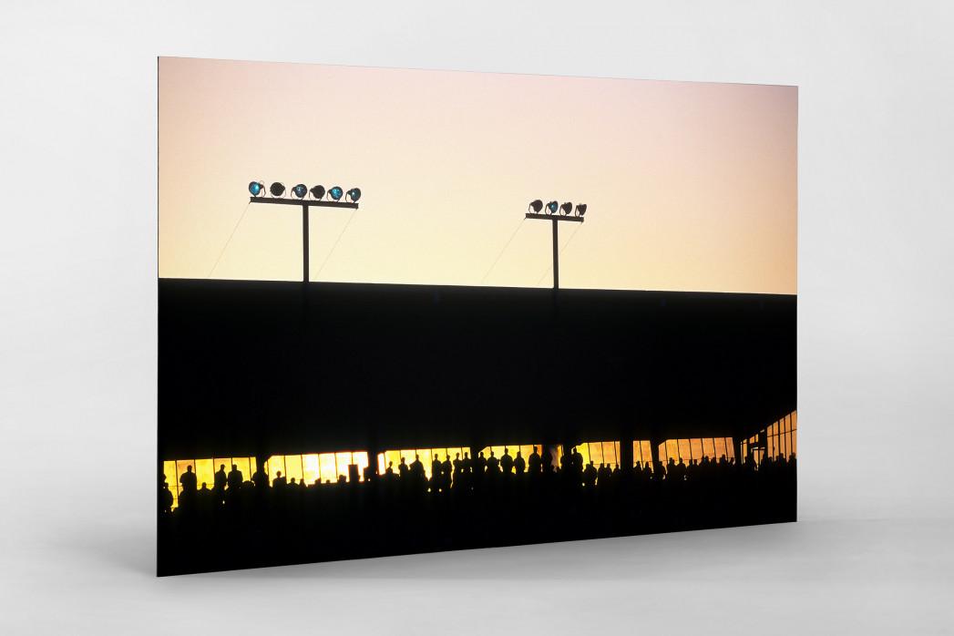 Rostocker Abendsonne als auf Alu-Dibond kaschierter Fotoabzug
