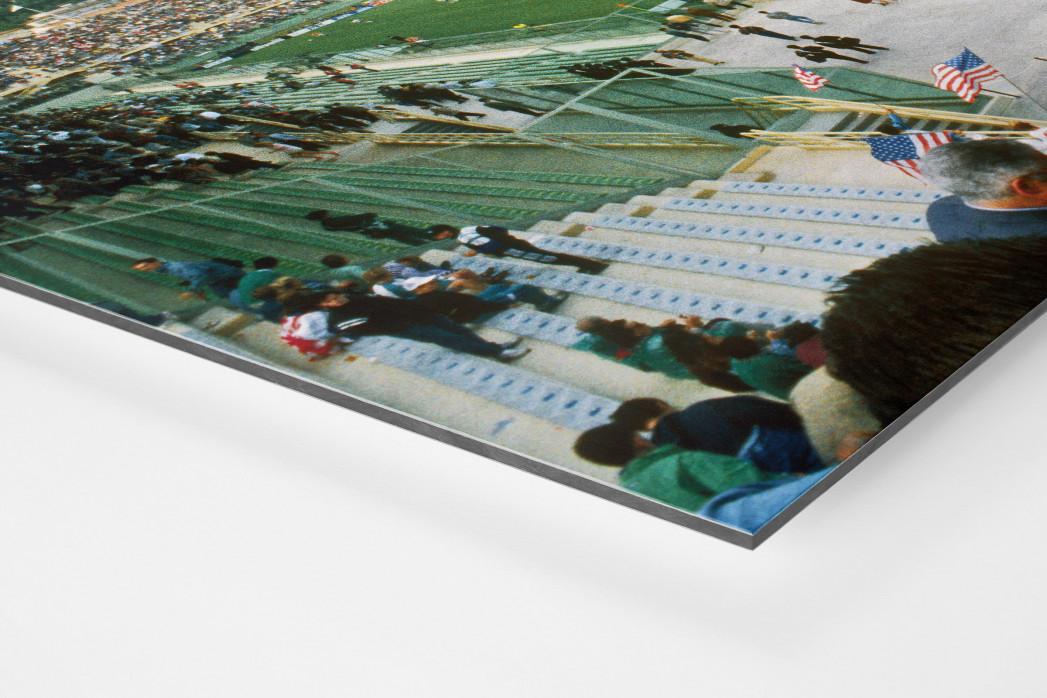Stadio Artemio Franchi 1990 als auf Alu-Dibond kaschierter Fotoabzug (Detail)