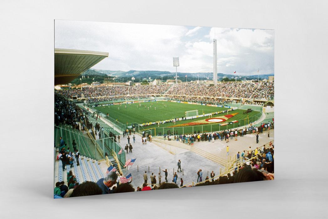 Stadio Artemio Franchi 1990 als auf Alu-Dibond kaschierter Fotoabzug