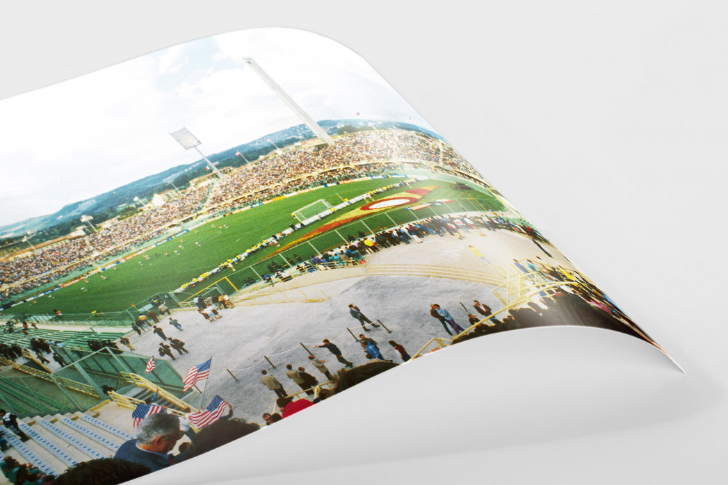 Stadio Artemio Franchi 1990 als FineArt-Print