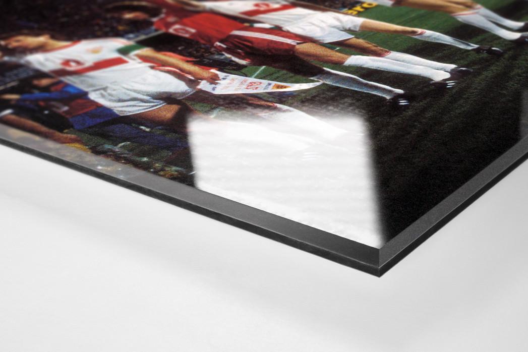 Stuttgart in Neapel als Direktdruck auf Alu-Dibond hinter Acrylglas (Detail)