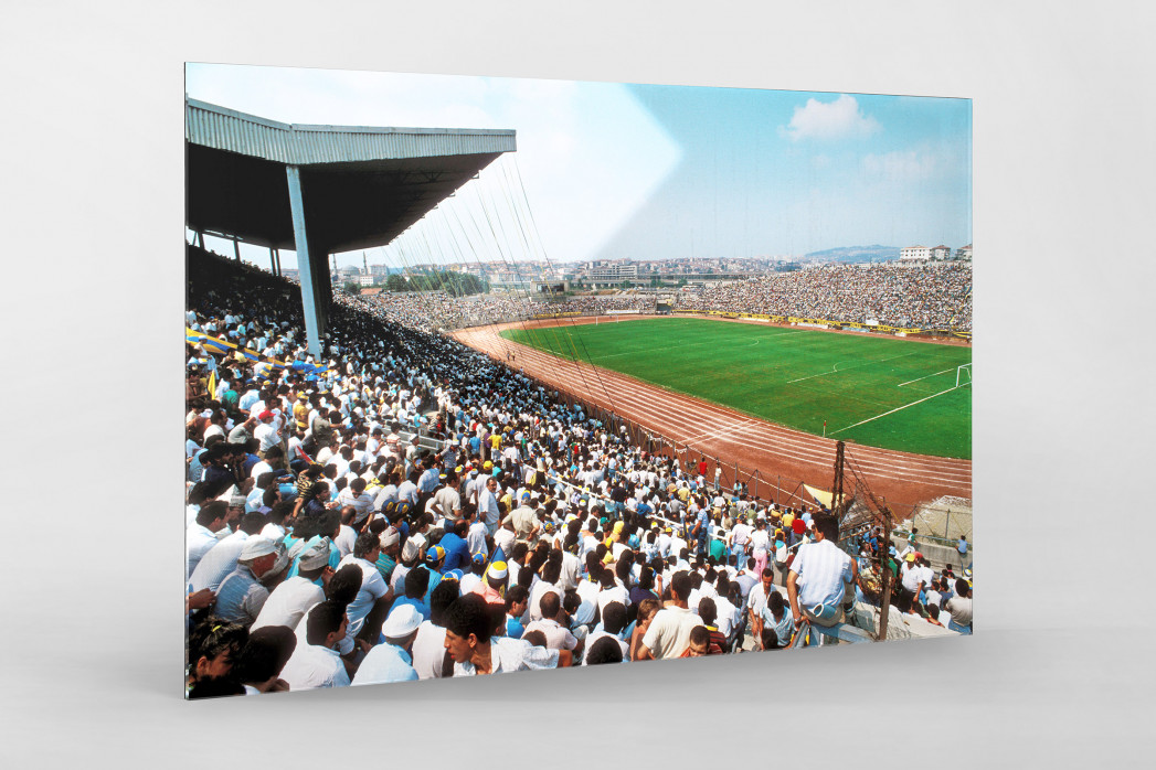 Şükrü-Saracoğlu-Stadion (1991) als Direktdruck auf Alu-Dibond hinter Acrylglas