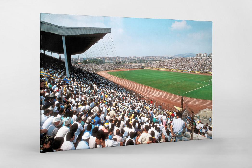 Şükrü-Saracoğlu-Stadion (1991) als Leinwand auf Keilrahmen gezogen