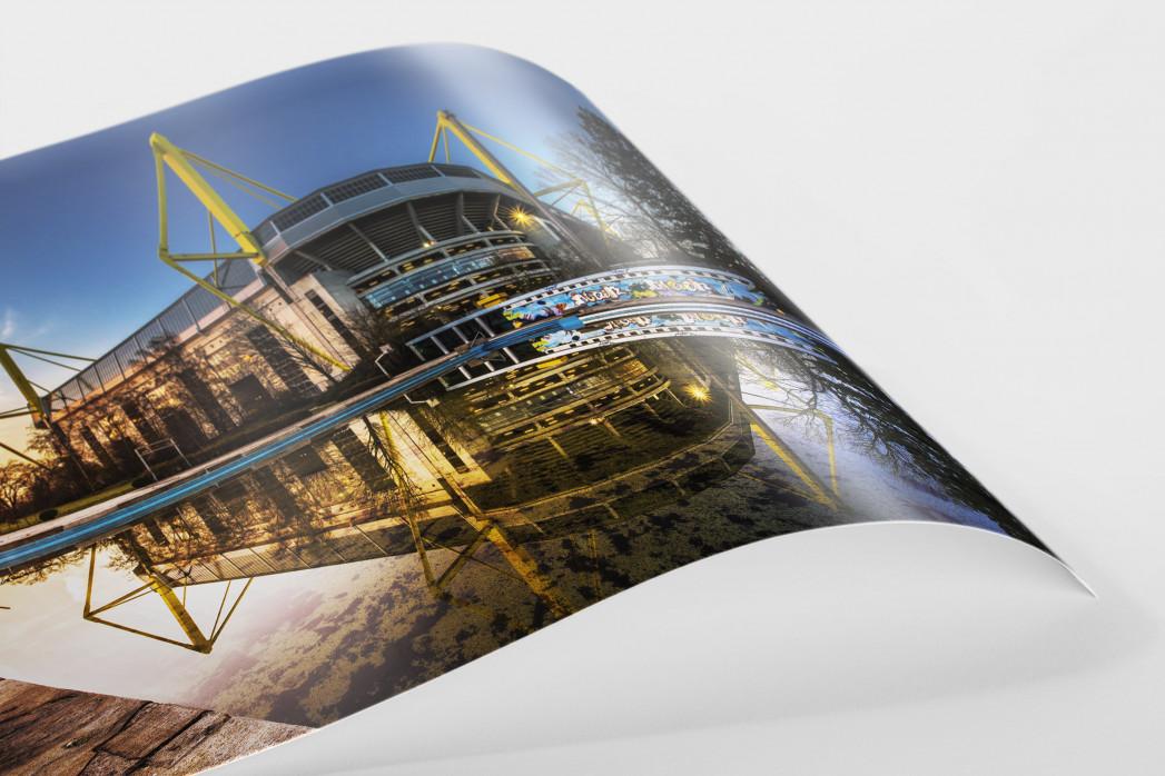 Blick auf den Signal Iduna Park (Farbe) als FineArt-Print