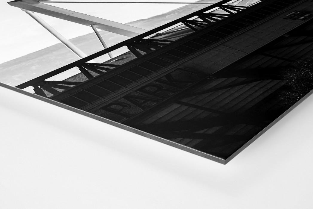 Dach des Signal Iduna Parks als auf Alu-Dibond kaschierter Fotoabzug (Detail)