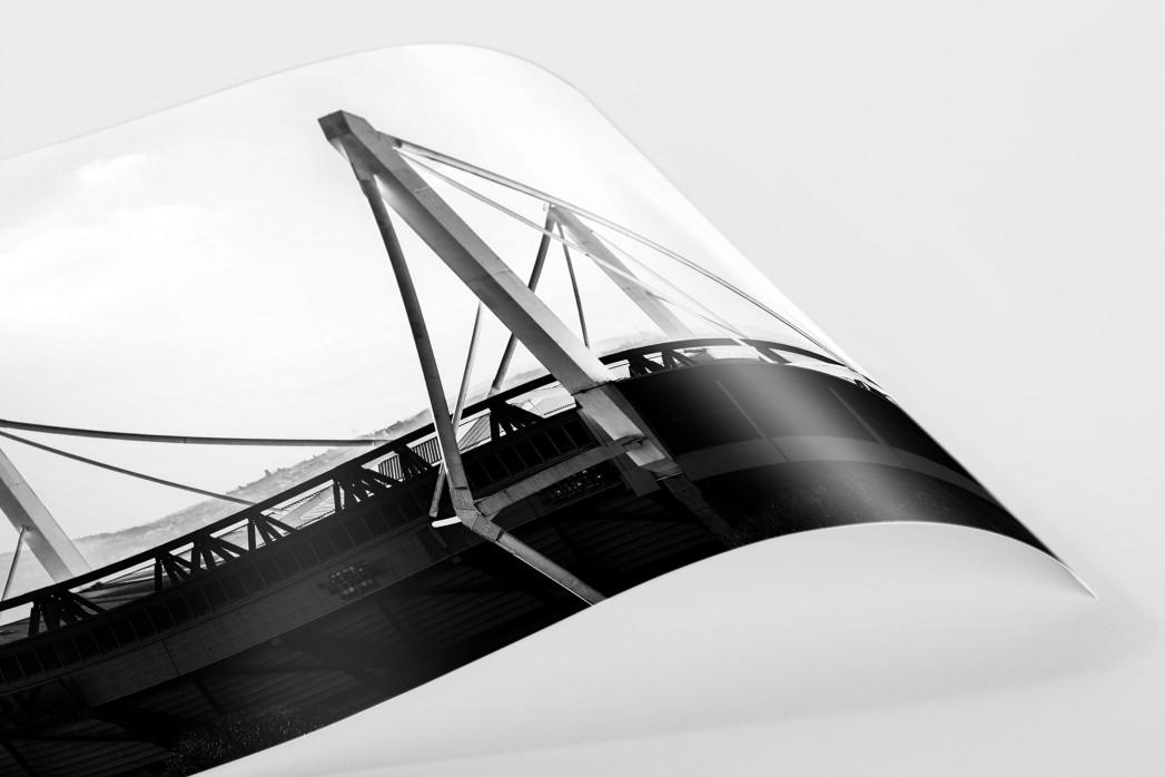 Dach des Signal Iduna Parks als FineArt-Print