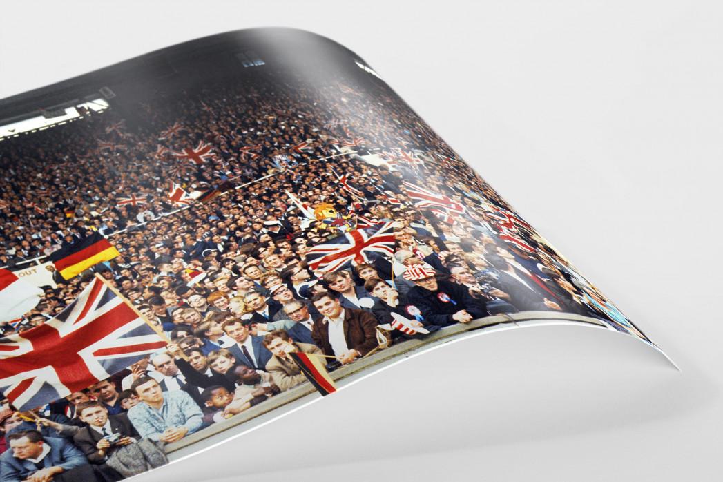 Fans beim WM Finale 1966 als FineArt-Print
