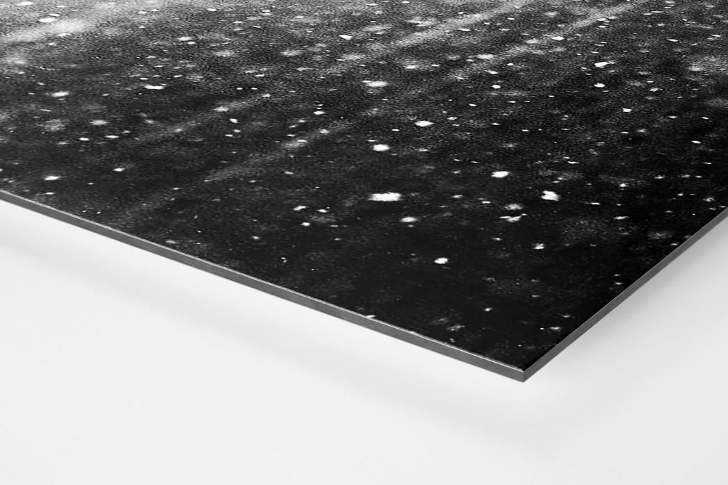 Bochumer im Schnee als auf Alu-Dibond kaschierter Fotoabzug (Detail)