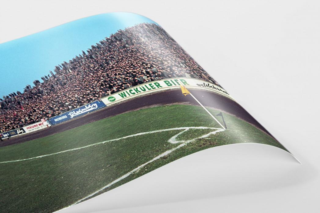 Tribüne Stadion am Uhlenkrug als FineArt-Print