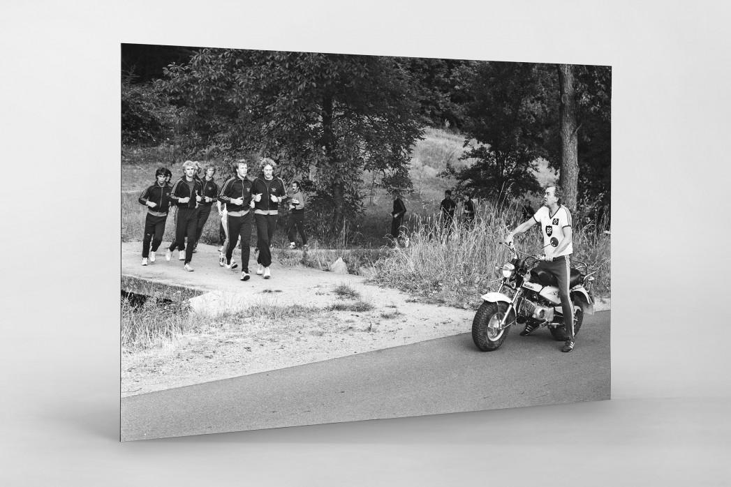 Aus dem HSV Trainingslager als auf Alu-Dibond kaschierter Fotoabzug