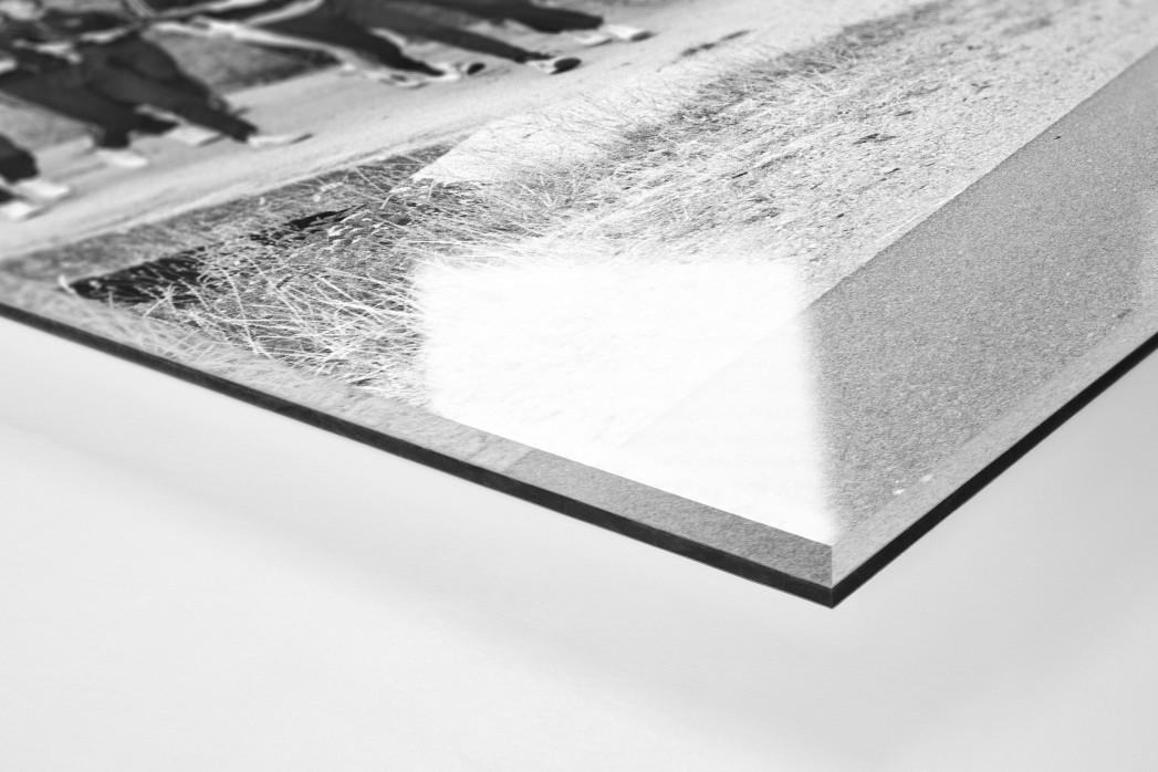 Aus dem HSV Trainingslager als Direktdruck auf Alu-Dibond hinter Acrylglas (Detail)