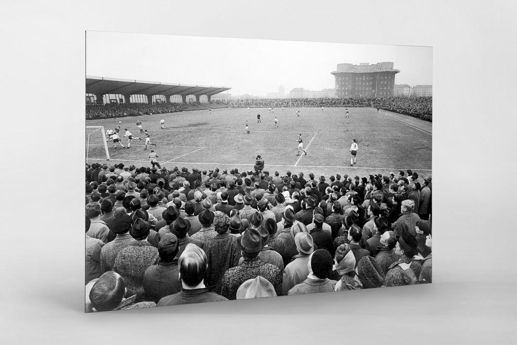 Millerntor Stadion 1966 als auf Alu-Dibond kaschierter Fotoabzug