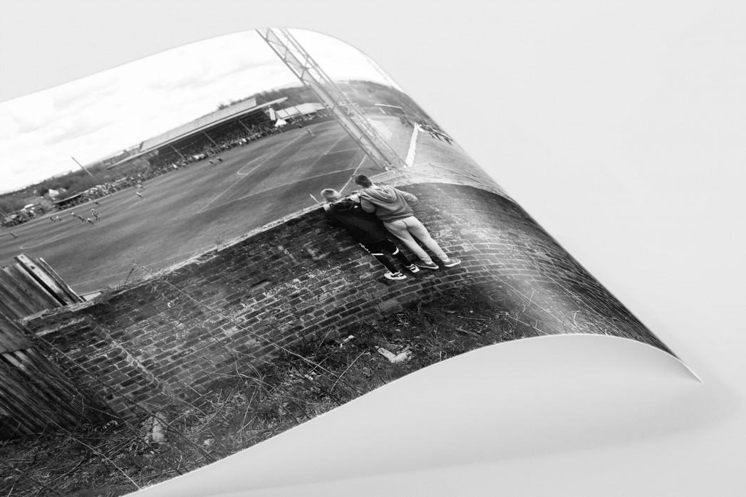 Blick über die Mauer als FineArt-Print