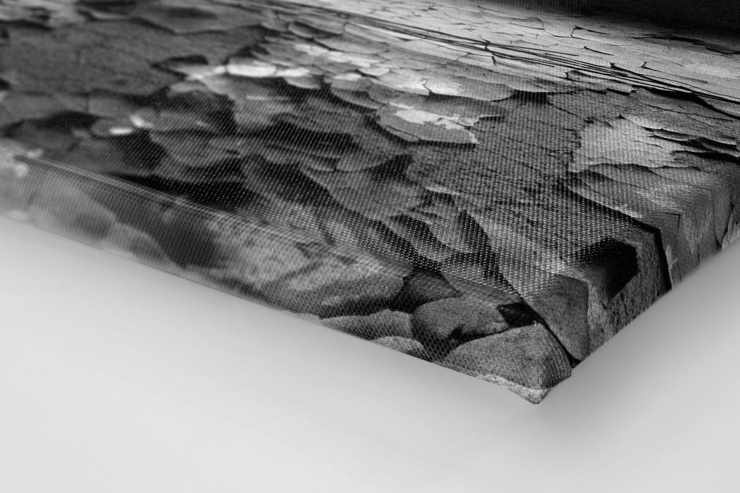Der isolierte Torwart als Leinwand auf Keilrahmen gezogen (Detail)