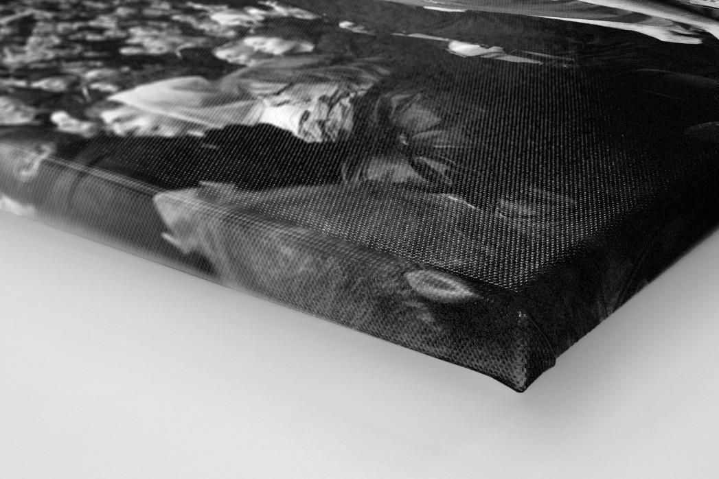 Unerwarteter Jubel als Leinwand auf Keilrahmen gezogen (Detail)