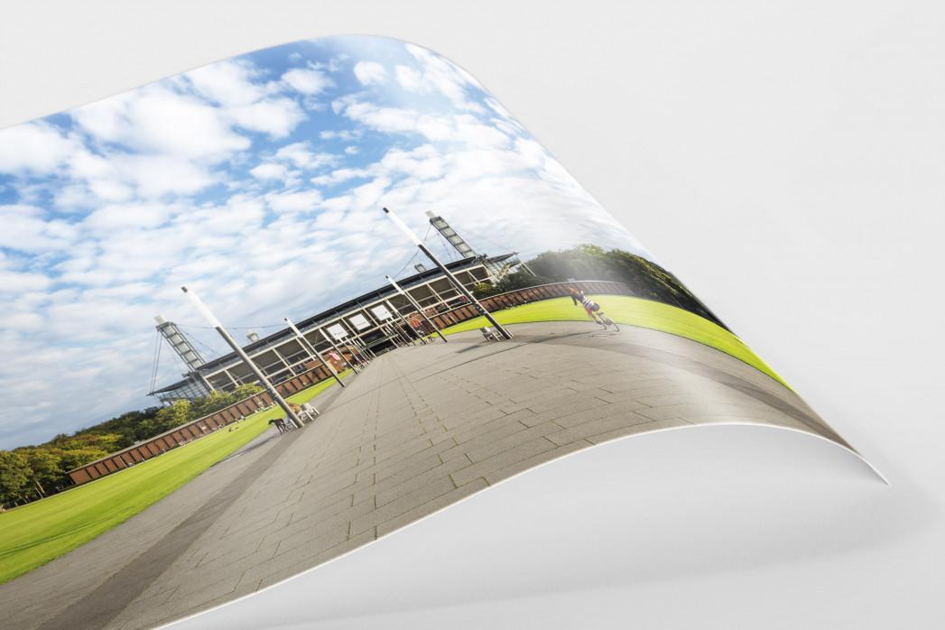 Auf dem Weg in die Kölner Arena als FineArt-Print