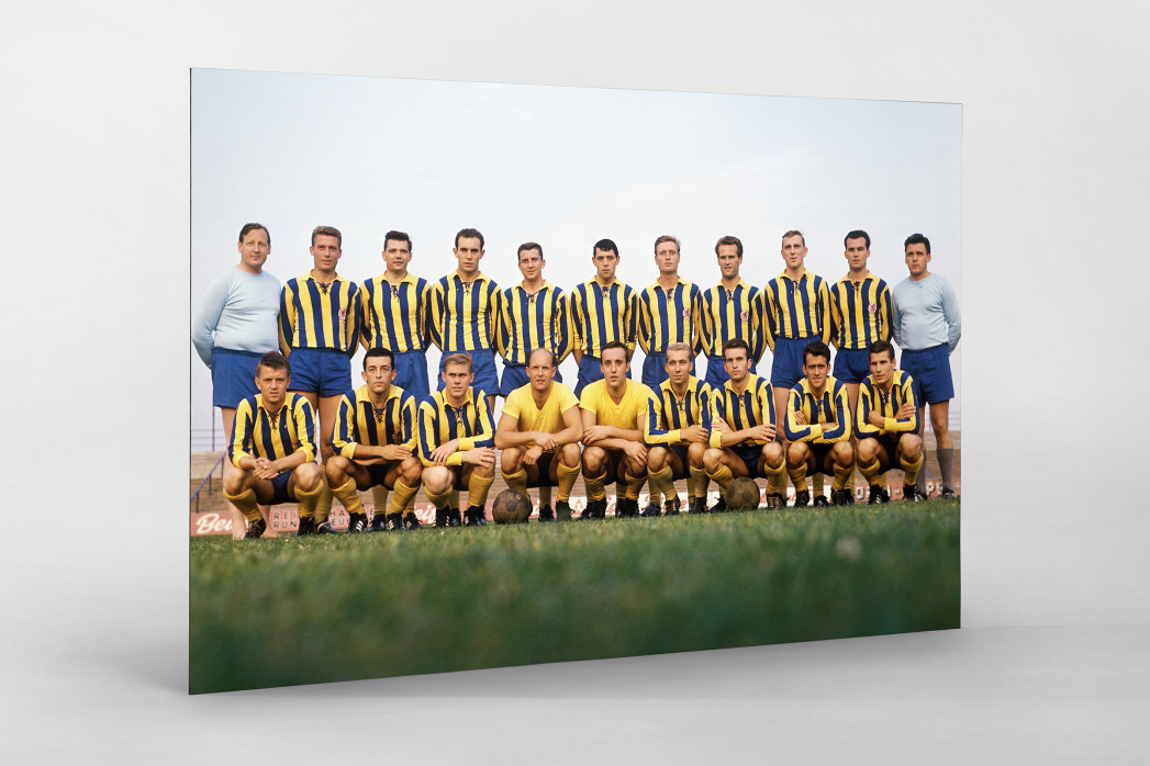 Braunschweig 1963/64 als auf Alu-Dibond kaschierter Fotoabzug
