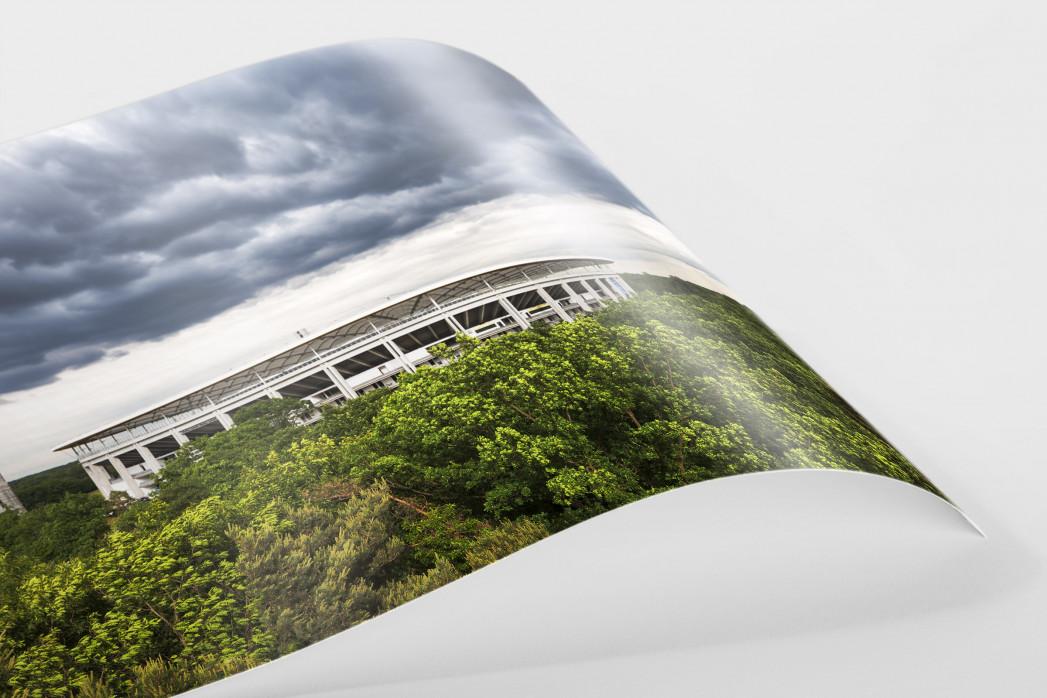 Blick auf die Frankfurter Arena als FineArt-Print