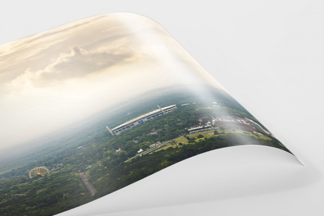 Frankfurter Arena im Stadtbild als FineArt-Print