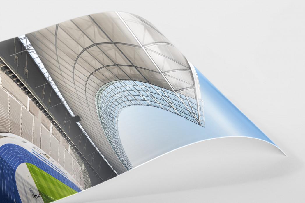 Kurve Olympiastadion als FineArt-Print