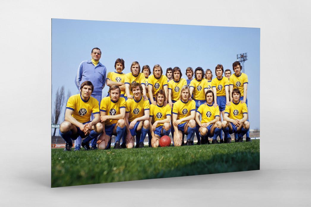 Braunschweig 1973/74 als auf Alu-Dibond kaschierter Fotoabzug