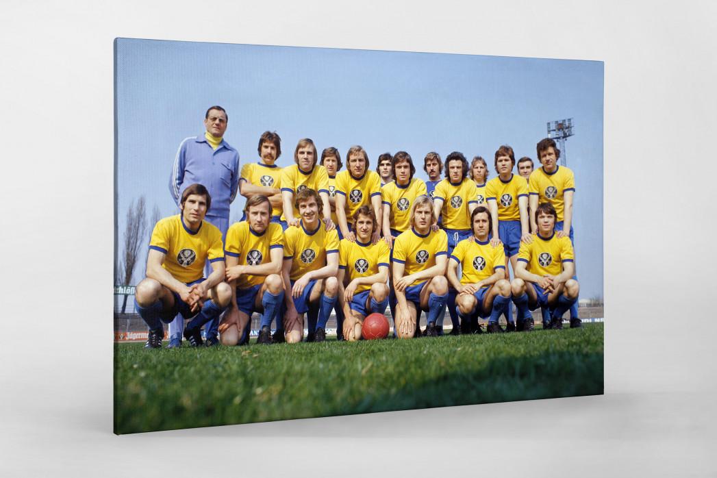 Braunschweig 1973/74 als Leinwand auf Keilrahmen gezogen