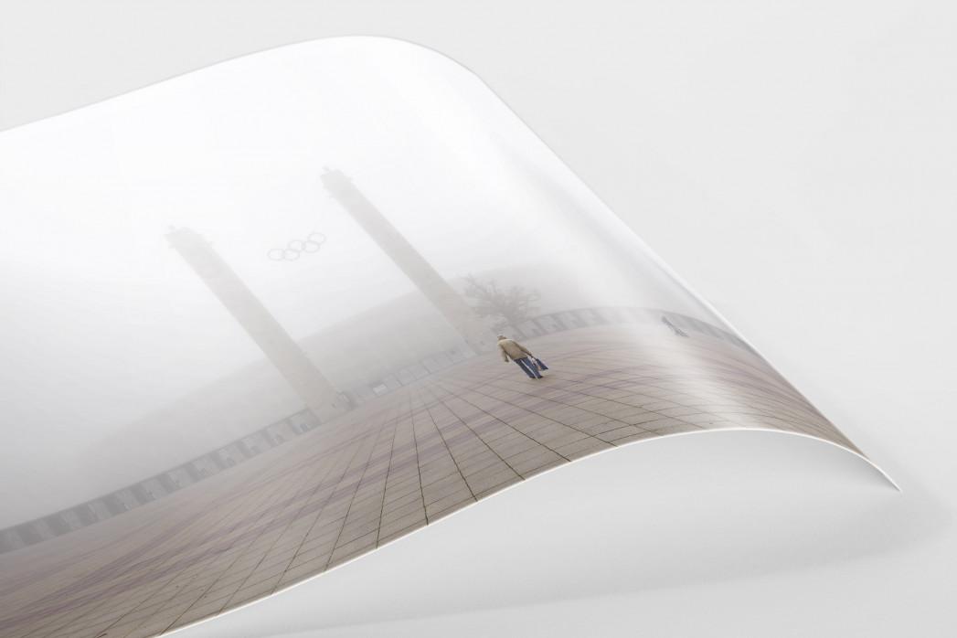 Nebel vor dem Olympiastadion als FineArt-Print
