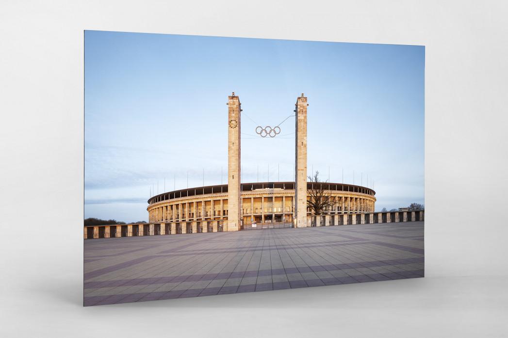 Vorplatz Olympiastadion als auf Alu-Dibond kaschierter Fotoabzug