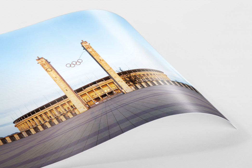 Vorplatz Olympiastadion als FineArt-Print