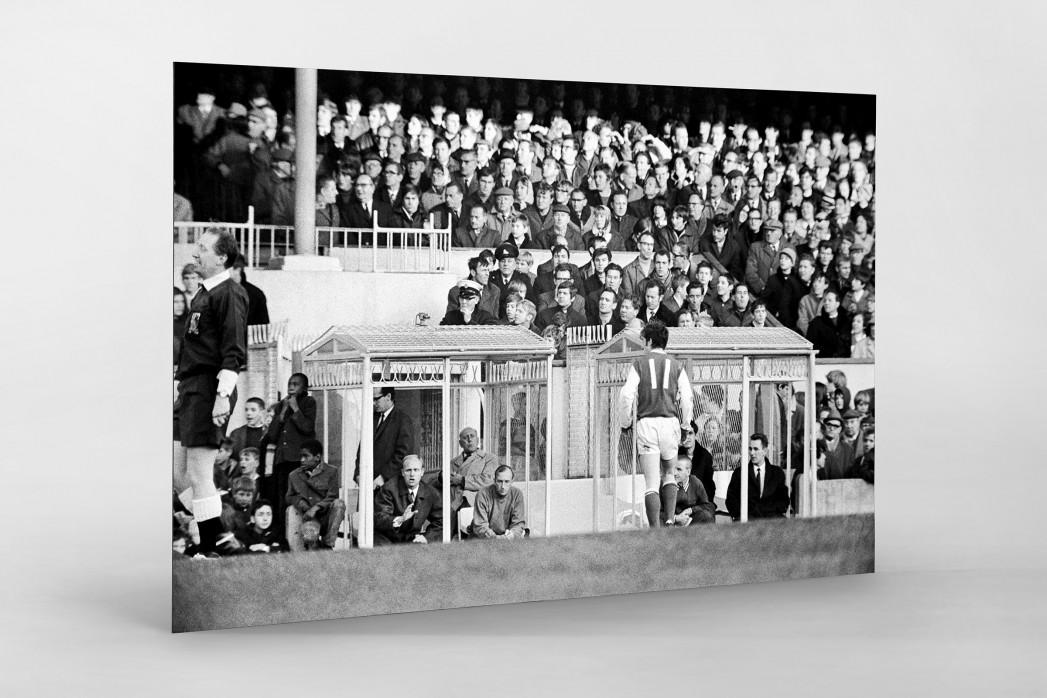 Momentaufnahme Highbury 1969 als auf Alu-Dibond kaschierter Fotoabzug