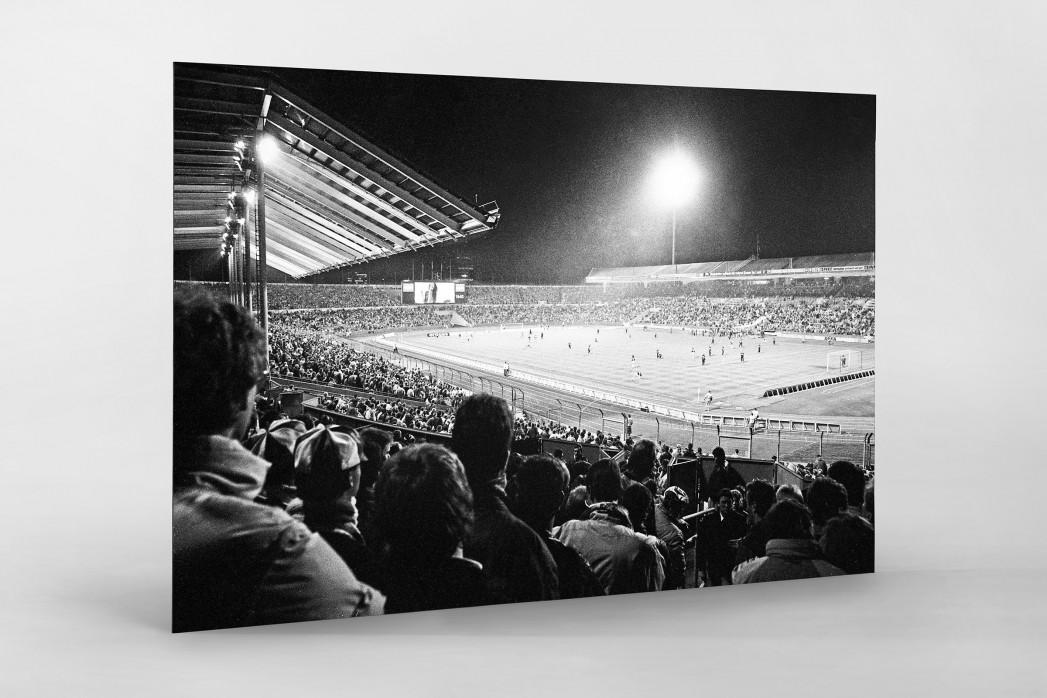 Neckarstadion 1989 als auf Alu-Dibond kaschierter Fotoabzug
