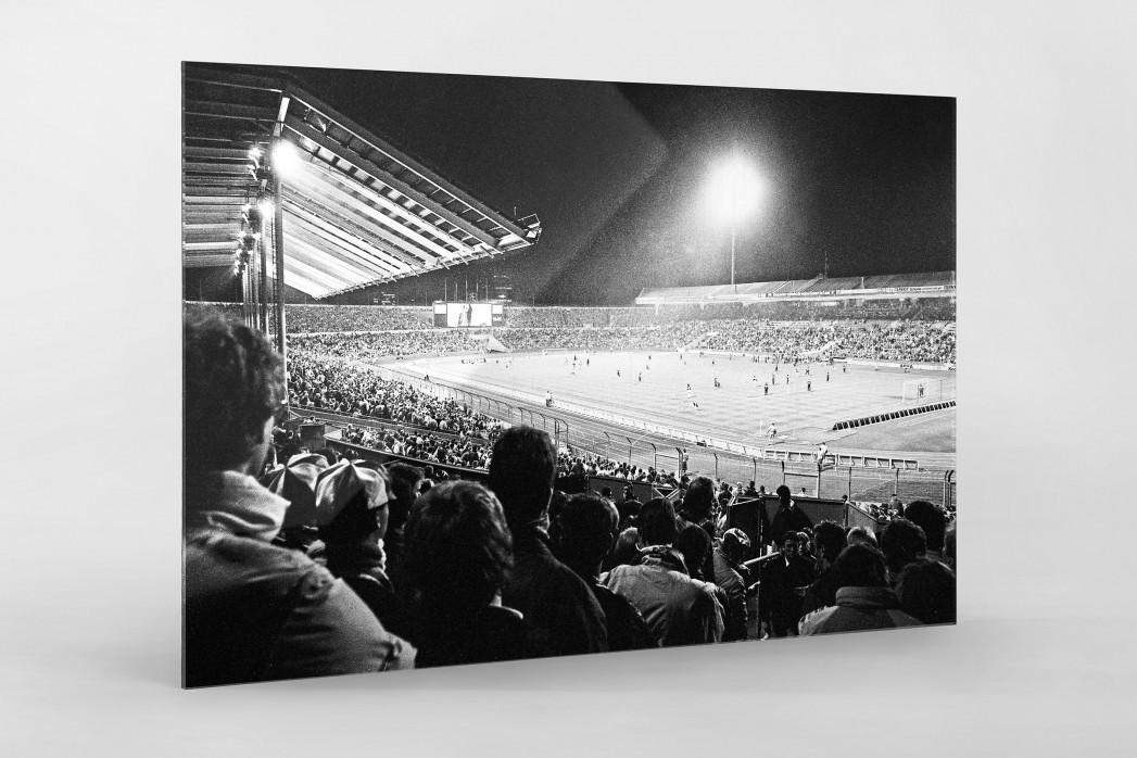 Neckarstadion 1989 als Direktdruck auf Alu-Dibond hinter Acrylglas