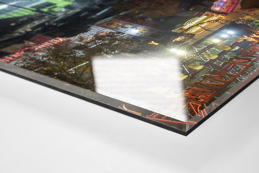 Millerntor und Hamburger Dom (1) als Direktdruck auf Alu-Dibond hinter Acrylglas (Detail)