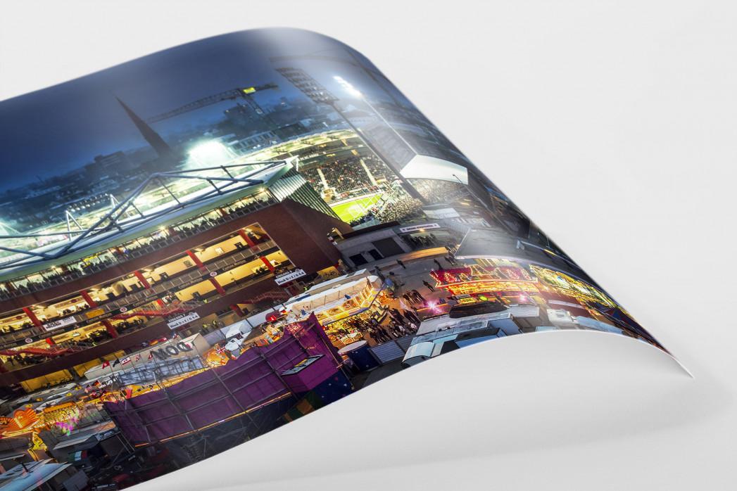 Millerntor und Hamburger Dom (3) als FineArt-Print