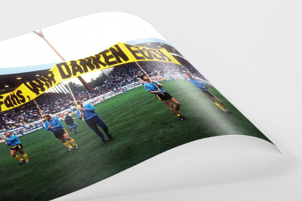 BVB dankt Fans als FineArt-Print