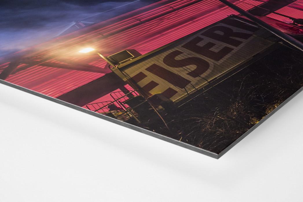 Red Light Special an der Alten Försterei als auf Alu-Dibond kaschierter Fotoabzug (Detail)