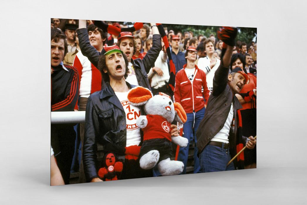 Club Fans 1978 als auf Alu-Dibond kaschierter Fotoabzug