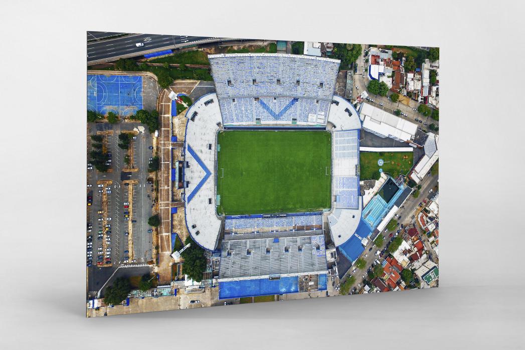 Vogelperspektive Estadio José Amalfitani als auf Alu-Dibond kaschierter Fotoabzug