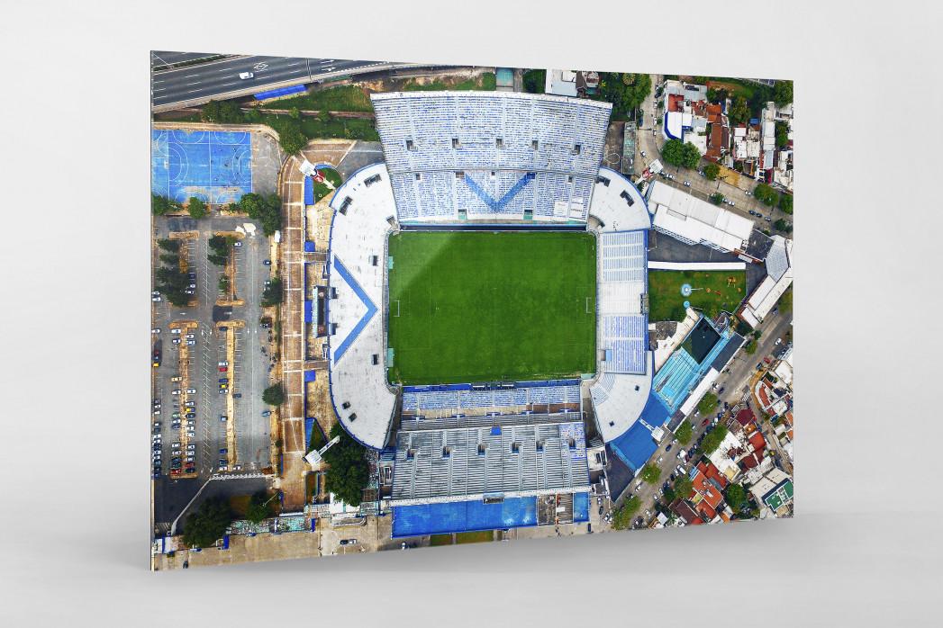 Vogelperspektive Estadio José Amalfitani als Direktdruck auf Alu-Dibond hinter Acrylglas