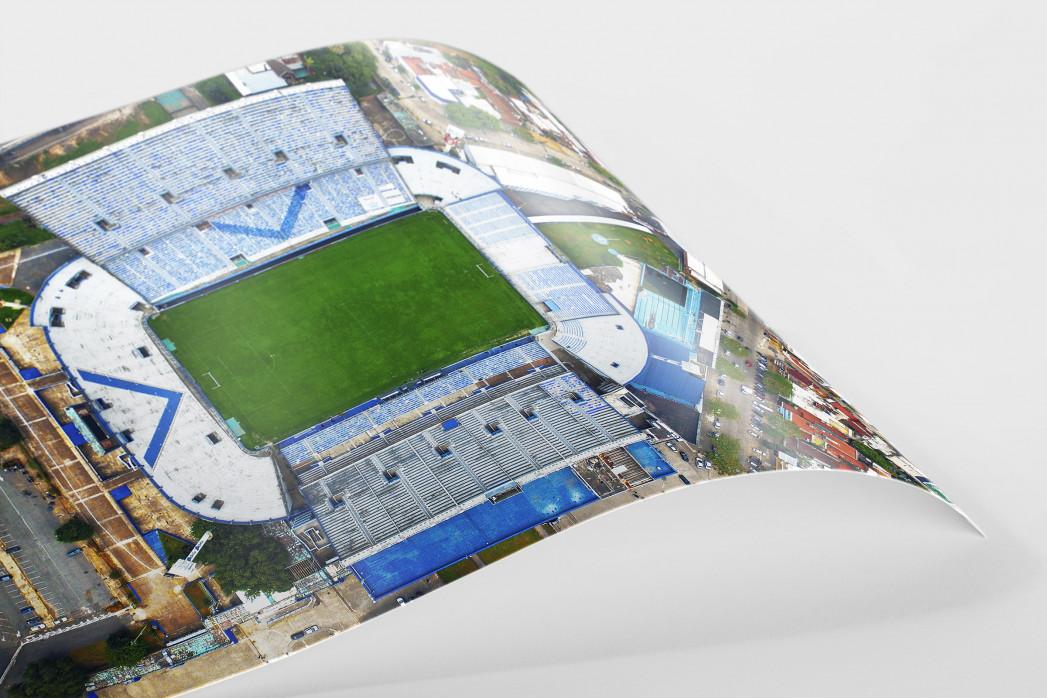 Vogelperspektive Estadio José Amalfitani als FineArt-Print