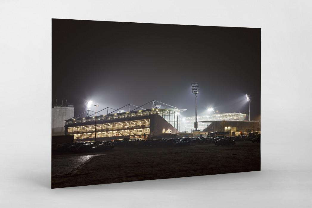 Millerntor bei Flutlicht (Farbe-2) als auf Alu-Dibond kaschierter Fotoabzug