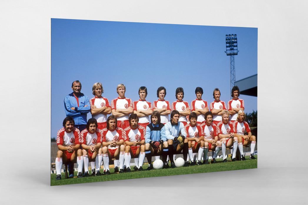 Essen 1975/76 als auf Alu-Dibond kaschierter Fotoabzug
