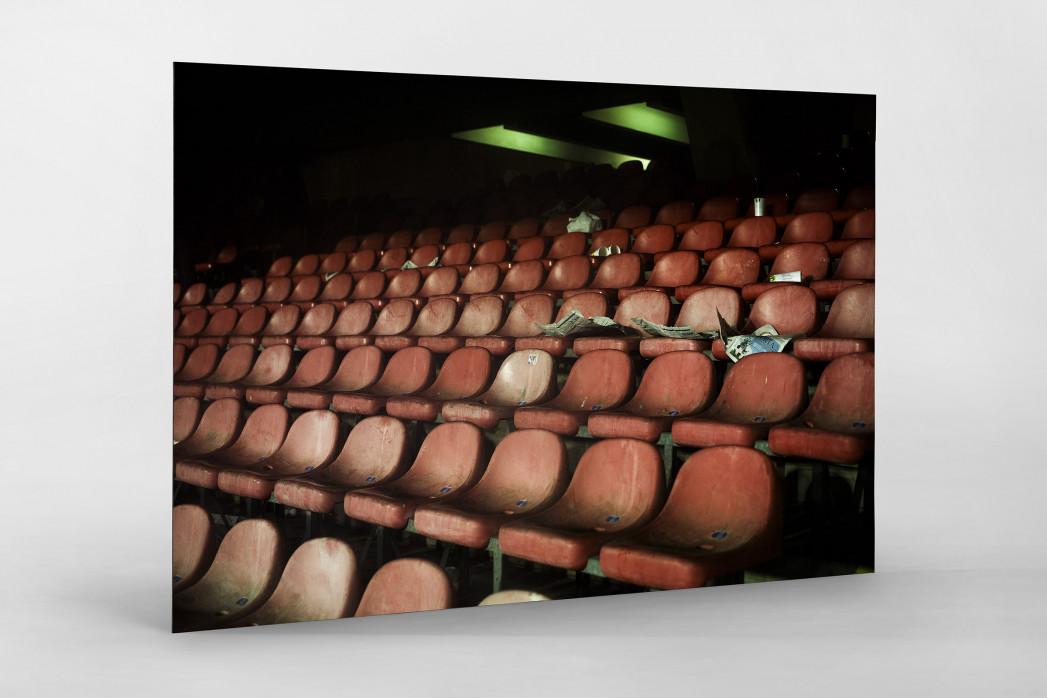 Schalensitze im San Paolo als auf Alu-Dibond kaschierter Fotoabzug